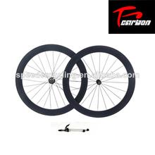 50mm ruedas tubulares, ruedas de carbono chino, carretera de carbono bicicleta ruedas centro de novatec