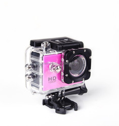 video camera hd DV full hd 1080p with 170 degree wide angle lens waterproof action camera DV-S8 video camera for car