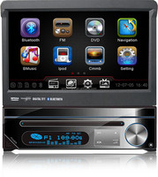 DH7089 One Din Auto audio car DVD GPS+Bluetooth+iPod connectivity+AM/FM Radio