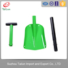 Aluminum Ally plastic coated snow shovels for hot sale