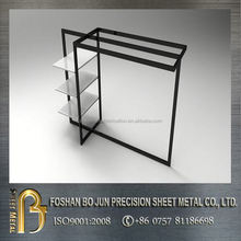 custom china manufacturer good selling shoes and clothings display rack for shop product with high quality guarantee