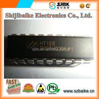 HT12E DIP18 Wireless Electric remote control decoder IR transmitter/Receiver ic Taiwain HOLTEK Original New ic