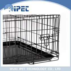 China wholesale eco-friendly economic bottom wire grid outdoor pet cage