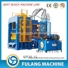 Multic functions low cost semi-auto hollow block machine buyer