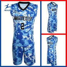 Healong Thermal Transfer Printing Hong Kong Dazzle Basketball Jerseys