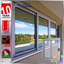 Australia As2047 standard China Supplier aluminum double glazed window