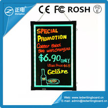 New advertising products message acrylic board