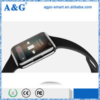 1.54 inch touch screen watch for Android and ISO mobile phone