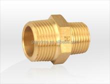 T-110 brass male reducing nipple connector