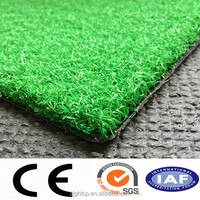 outdoor 15mm height synthetic grass / artificial turf for golf