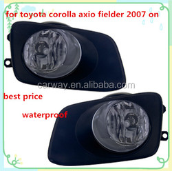 Waterproof auto light for Toyota Corolla Axio Fielder 2007 ON excellent 12v foglight