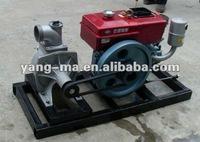 10KW-200KW water cooled sinlge cylinder diesel engine powerful farm irrigation diesel engine pump station