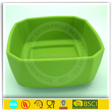 Factory Price Foldable Silicone Pet Bowl for Travelling