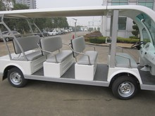 open top electric tourist bus