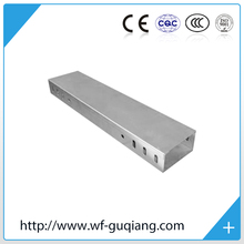 Galvanized steel cable tray with cover
