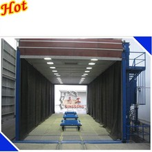 Sand/Shot/Abrasive/Pillet Blasting Booth/Room/Chamber/Equipment with Shot Recovery System and Dust Filter System