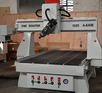 China Syntec Control 1325 4 Axis 3D ATC Woodworking CNC Router Machine by Linear