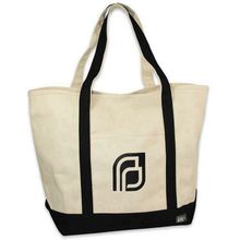 Top quality natural canvas tote bag