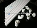 porcelana branca 2 polegadas tubo de pvc para abastecimento de água