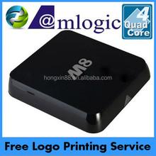 Full quad core hd 1080p Amlogic s802 quad core m8 intel atom mini pc
