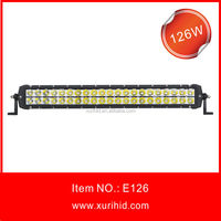 126w Double Row Led Light Bar For Off Road Jeep 4x4 Led Bar