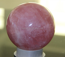 personalized polishing Quartz crystal ball for sale/gemstone sphere 10.6cm