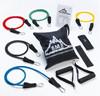11Pcs Fitness Resistance Bands Exercise Tubes Elastic Training bands Yoga Pull tubes