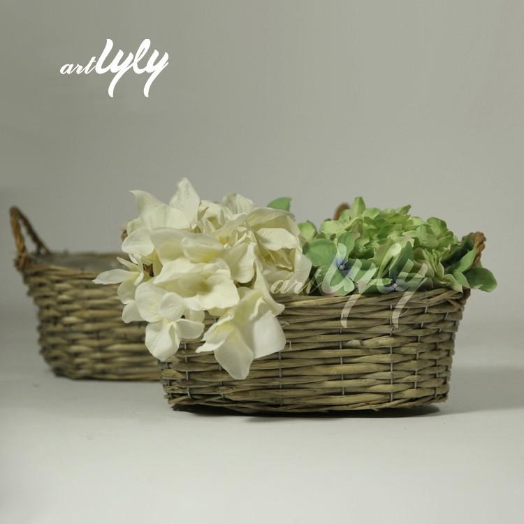 Hot Sale Cheap Wicker Flower Pots For Home Decor Wholesale Buy Garden Flowe