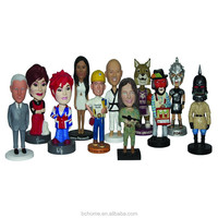 Audited resin factory professional bobbleheads,custom bobble heads