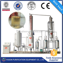 All impurities removing change oil into diesel oil used engine oil regeneration machine