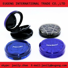 wholesale popular high quality compact powder case with sift