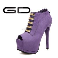 Sexy Women Platform Pumps Peep Toe Stiletto High Heels Sandal Shoes