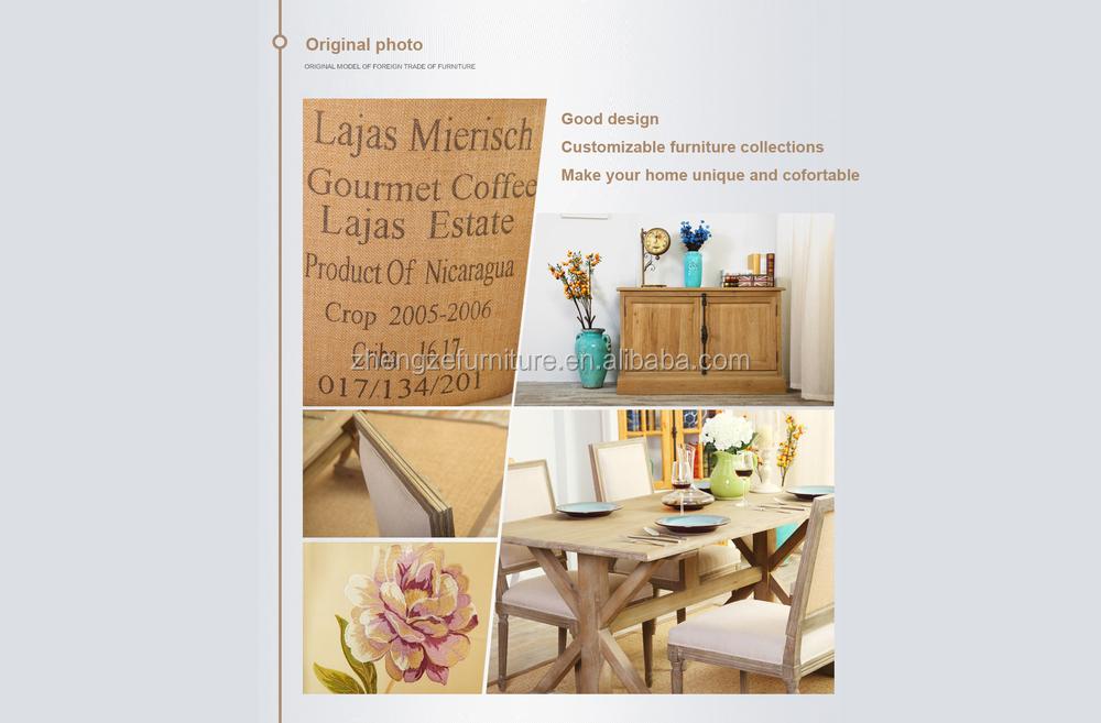 2015 mejor venta de marco de madera maciza cubierta de tela de la ...