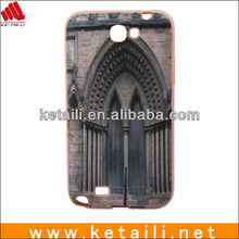 TPU Water imprint Phone cover for samsung Note II N7100