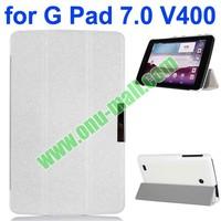 2014 New Arrival Ultrathin Leather Case for LG G Pad 7.0 V400