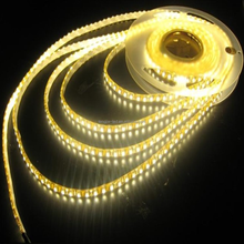 CE&RoHS waterproof flexible 60leds 12v SMD 3528 LED Strips Yellow Decoration lighting