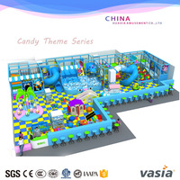 Wholesale children commercial indoor soft playground with rubber flooring for kids