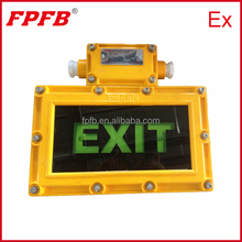 BYD Flameproof emergency LED type exit light
