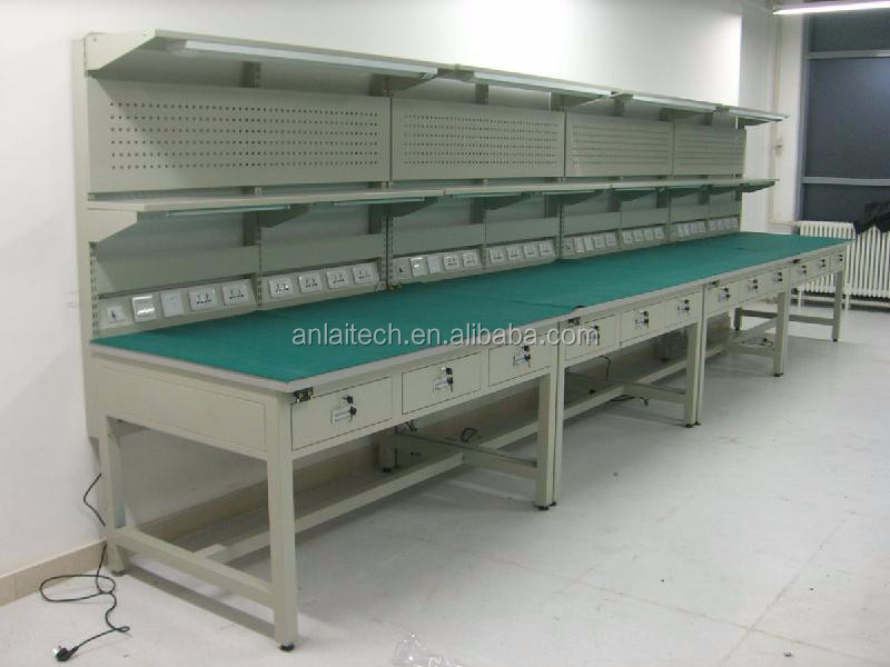 Anti Static Tables : Electronic assembly esd work table anti static modular