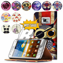 For Samsung Galaxy S4 I9500 Case Print Card Holder Flip PU Folio Wallet Book Style Leather Case Cover Moible Phone Csaes