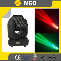 Beam& Wash 9x12W RGBW 4 in 1 LED Matrix Moving head