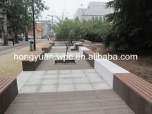 White floor covering wood plastic composite decking
