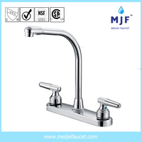 CUPC UPC CSA Ceramic Two Handle Kitchen Faucet CP/BN/ORB Finishing (8201-0131)