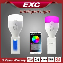 lamp speaker our bluetooth led bulb has voice control app bulb function