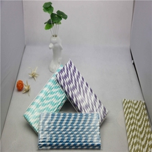 Factory Direct Paper Straws 144 Styles or Custom Made Prints Paper Drinking Straw