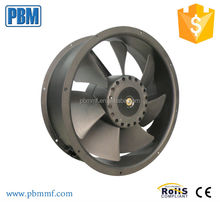 DC single-phase axial cooling fan