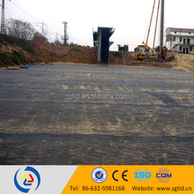 polypropylene uniaxial grids plastic weaving material road base material