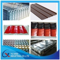 metal sheet /color coated galvanized steel plate/corrugated steel for roofing