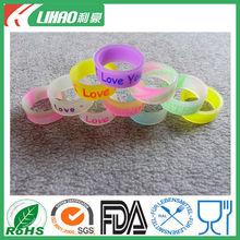 souvenir china exporter silicone commemorate ring