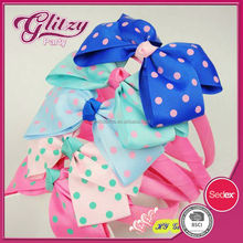 FH-28 2015 Wholesale,New Cute Cotton fabric Dots Bow Hair clips/Kids/Children/Baby/Girl/Princess/Hair Pins/Hair Accessories